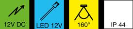 Auf-Einbauleuchte-LED-Flexyled-12V-DC-1kl