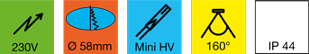 Einbauleuchte-LED-LD-8001-58HV--Hochvolt!-1kl