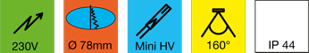 Einbauleuchte-LED-LD-8001-78HV--Hochvolt!-1kl