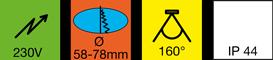 Einbauleuchte-LED-Z-Spot-HV--Hochvolt!-1kl
